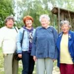 Kéthelyi nyugdíjasok a Bugaszegi Téglagalériában