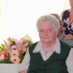 Annus néni köszöntése 90. születésnapján