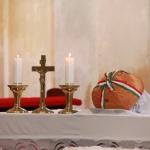 A Kéthelyi Gazdakör adománya került megáldásra Kéthelyen is
